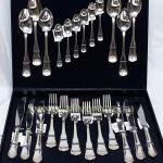 Широкий выбор столового серебра в интернет-магазине kolchugserebro.ru