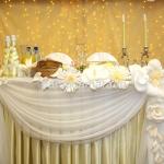 Вспомогательные элементы для украшения свадебного зала