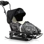 Санимобиль – сани-коляска в одной конструкции!