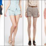 Модные женские шорты в этом году