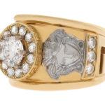 Оригинальные и эксклюзивные золотые кольца на сайте компании Сим-Сим