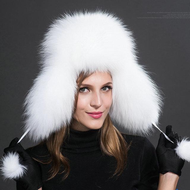 Женские меховые шапки - тепло и роскошно
