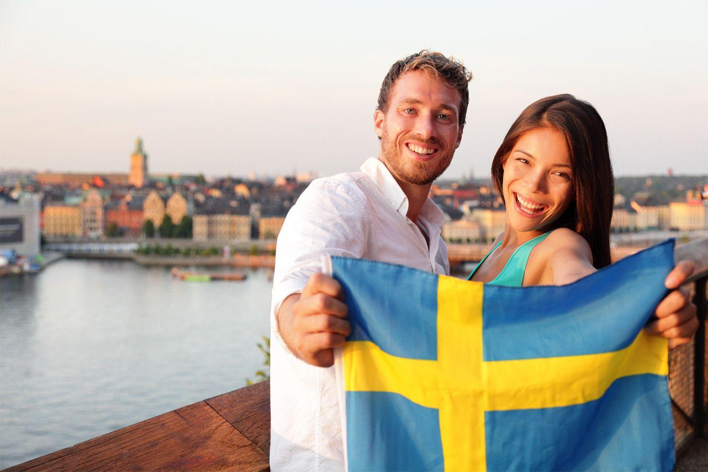 История шведского языка