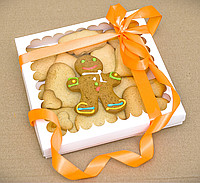 Печенье-валентинки