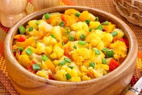 Овощное пюре «Цветная капуста» с рисом – вкусное и полезное детское питание