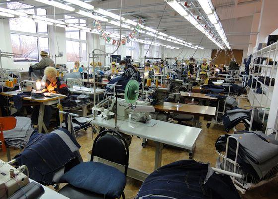 Организация работы швейного производства